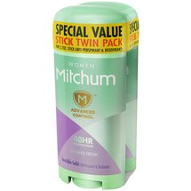 Mitchum Women Shower Fresh Invisible Solid Anti-Perspirant & Deodorant (Pack of 2)