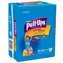 HUGGIES Pull-Ups Boys' Training Pants with Learning Designs Jumbo Pack 3T-4T