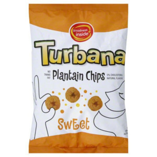 Goodness Inside Turbana Sweet Plantain Chips