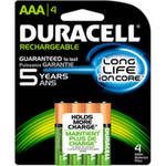 Duracell Rechargeable AAA Pre-Charged Batteries