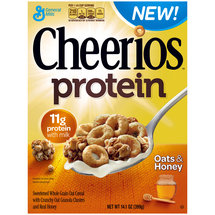Cheerios Protein Oats ; Honey Cereal