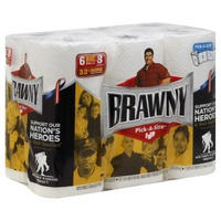 Brawny Paper Towels Pick-A-Size - 6 CT