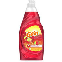 Ultra Gain Apple Berry Twist Dishwashing Liquid