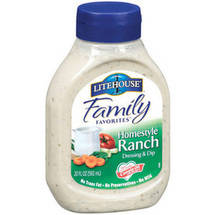 Litehouse Family Favorites Homestyle Ranch Dressing & Dip