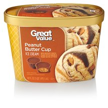 Great Value Peanut Butter Cup Ice Cream