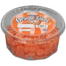 Zachary Artificial Orange Flavored Slices Coated In Sugar