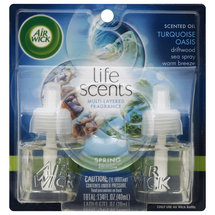 Air Wick Life Scents Turquoise Oasis Scented Oil Air Freshener Refills