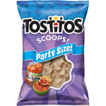 Tostitos Corn Chips Scoops! 100% White Corn Family Size