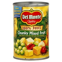 Del Monte Chunky in 100% Juice Mixed Fruit