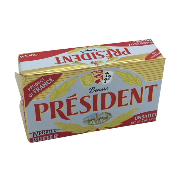 Président Imported Unsalted Butter