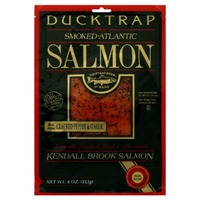 Ducktrap River of Maine Kendall Brook Salmon With Added Cracked Pepper & Garlic