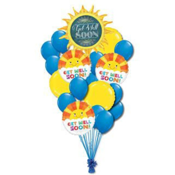 Get Well Colossal Balloon Bouquet