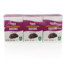 Great Value All Natural California Raisins