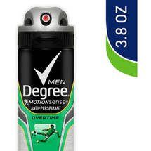 Degree Men Motionsense Dry Spray Overtime Antiperspirant
