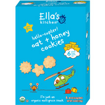 Ella's Kitchen Hello-copter! Oat + Honey Cookies