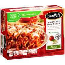 Stouffer's Classics Lasagna with Meat & Sauce