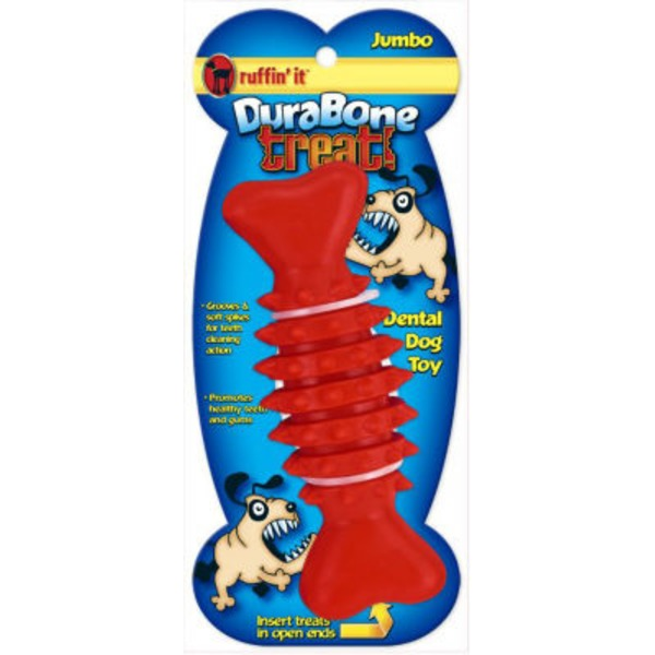 Ruffin' It Jumbo Durabone Treat Dental Toy