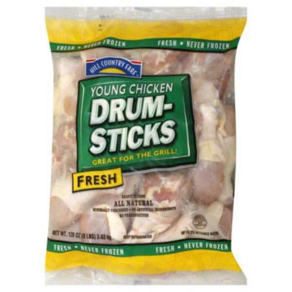 Hill Country Fare All Natural Chicken Drumsticks
