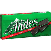 Andes Candy Creme De Menthe Thins