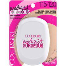 CoverGirl Ready Set Gorgeous Compact Powder Foundation Light 115/120