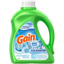 Gain Detergent With Oxi Icy Fresh Fizz Booster