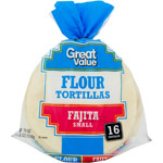 Great Value 6 Flour Tortillas