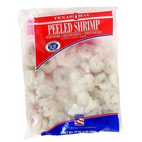 Lac Brome Peeled Raw Wild Gulf Shrimp, 50/70 Count