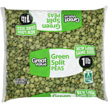 Great Value Green Split Peas