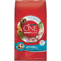 Purina ONE SmartBlend Large Breed Adult Formula Adult Premium Dog Food