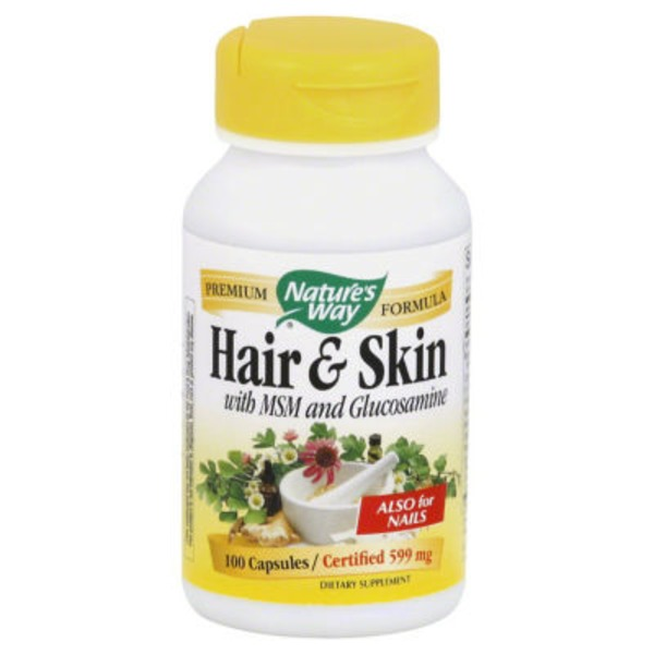 Nature's Way Hair & Skin Formula Capsules