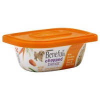 Beneful Chopped Blends With Chicken Carrots Peas & Wild Rice Dog Food