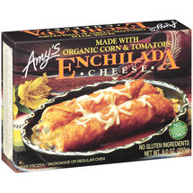 Amy's Cheese w/Organic Corn & Tomatoes Enchilada