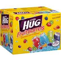 Little Hug Fruit Barrels Original Variety Fruit Drinks