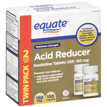 Equate Maximum Strength Acid Reducer Tablets 150mg