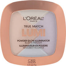 L'Oreal Paris True Match Lumi Powder Glow Illuminator C302 Ice Ice C 302