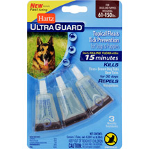 Hartz UltraGuard Flea and Tick Drops for Dogs over 60lbs