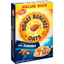 Post Honey Bunches of Oats with Crispy Almonds Cereal