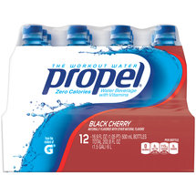 Propel Zero Black Cherry Nutrient Enhanced Water Beverage