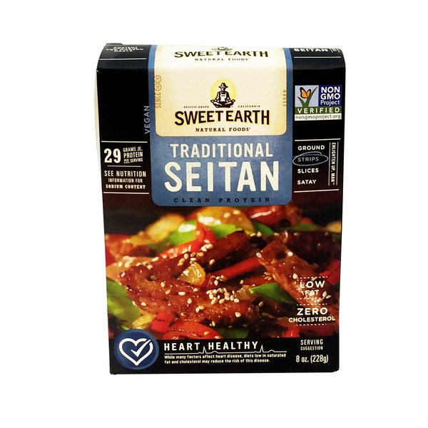 Sweet Earth Seitan, Traditional, Strips