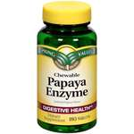 Spring Valley Papaya Enzyme Digestive Health Dietary Supplement