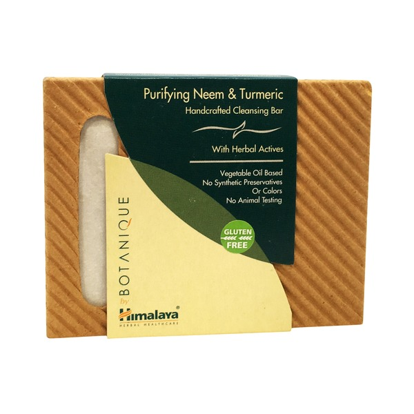 Himalaya Botanique Purifying Neem & Turmeric Handcrafted Soap Bar