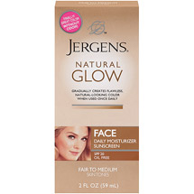 Jergens Natural Glow Healthy Complexion Daily Fair/Medium Skin Tones Facial Moisturizer