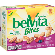 belVita Bites Mixed Berry Mini Breakfast Biscuits