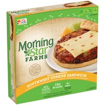 MorningStar Farms Southwest Sunrise Breakfast Sandwiches