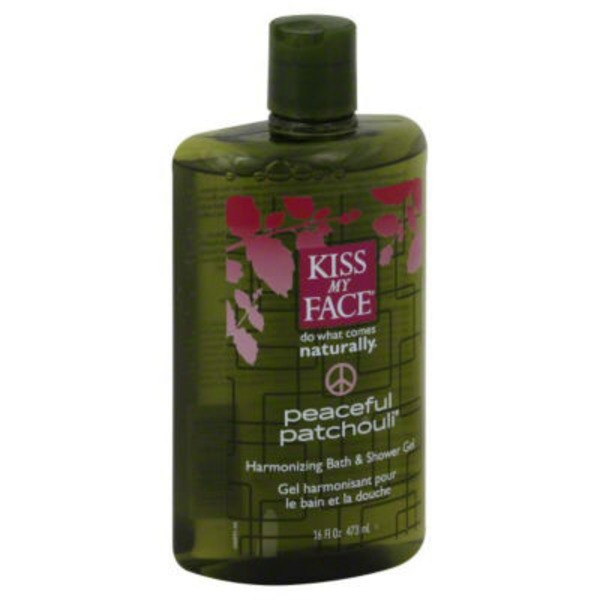 Kiss My Face Peaceful Patchouli Bath & Shower Gel