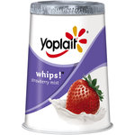 Yoplait Light & Fluffy Strawberry Mist Whips