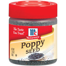 McCormick Specialty Herbs And Spices Poppy Seed