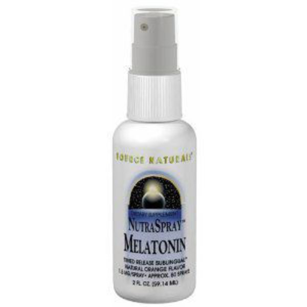 Source Naturals Melatonin NutraSpray Sublingual Orange Flavor