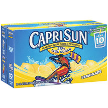CapriSun Lemonade Juice Box Drink 10 Ct/60 Fl Oz