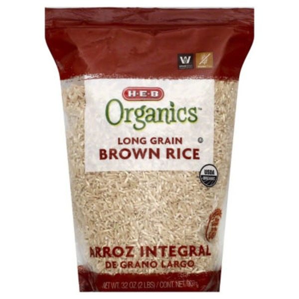 H-E-B Long Grain Brown Rice